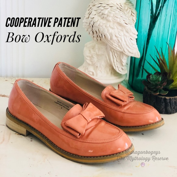 c3baad8064a Cooperative Patent Bow Oxfords. M 5af3762d72ea88890a7ea272